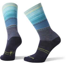 Smartwool Sulawesi Stripe Crew - Chaussettes Femme - bleu